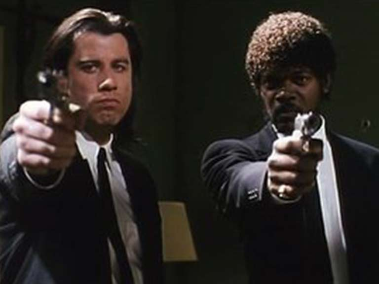 M'agraden massa les pelis de Tarantino
