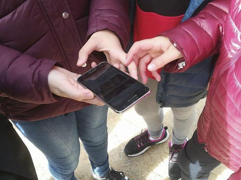 Gimcana amb mòbil