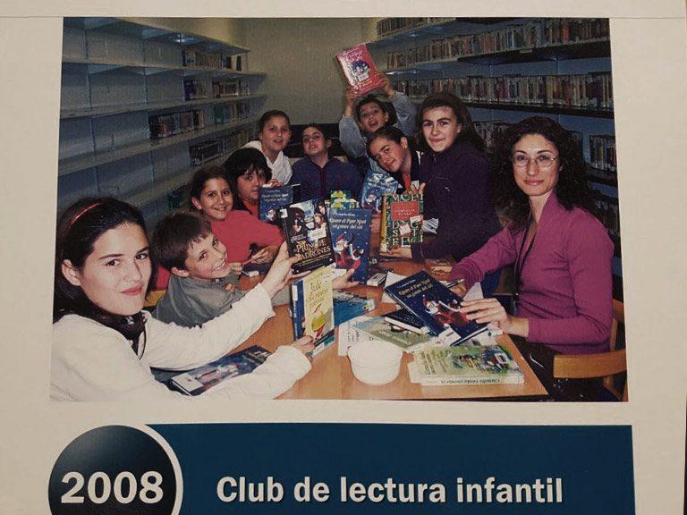 El Club de lectura infantil